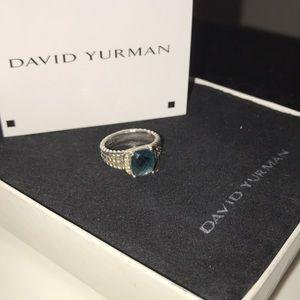 David Yurman petite Wheaton Topaz size 6.5